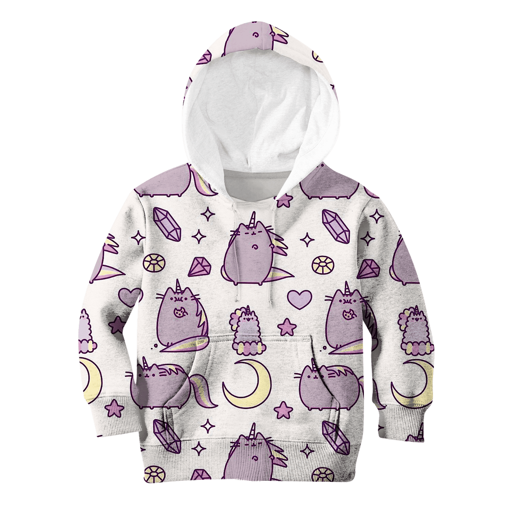 Pusheen Cat Unicorn Custom Hoodies T-shirt Apparel