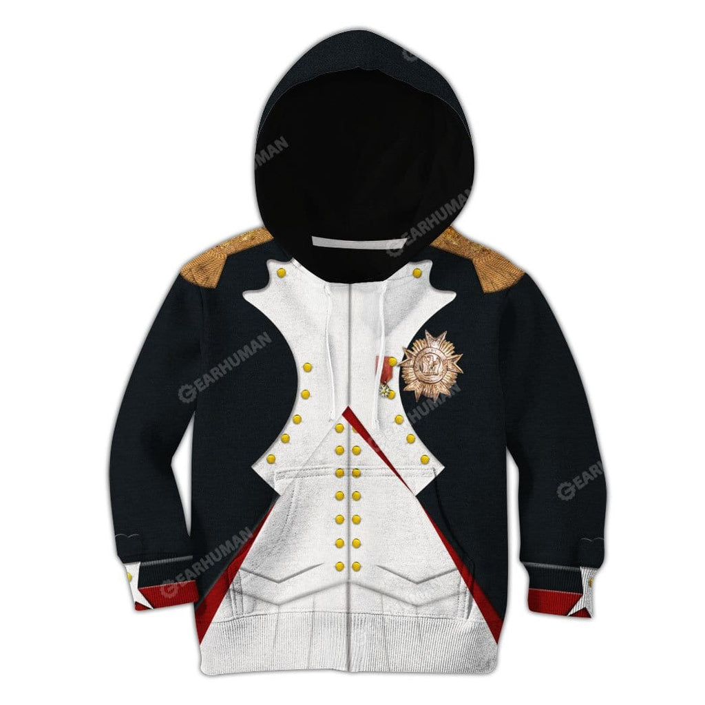 Hoodie Kid Custom Napoleon Bonaparte Apparel