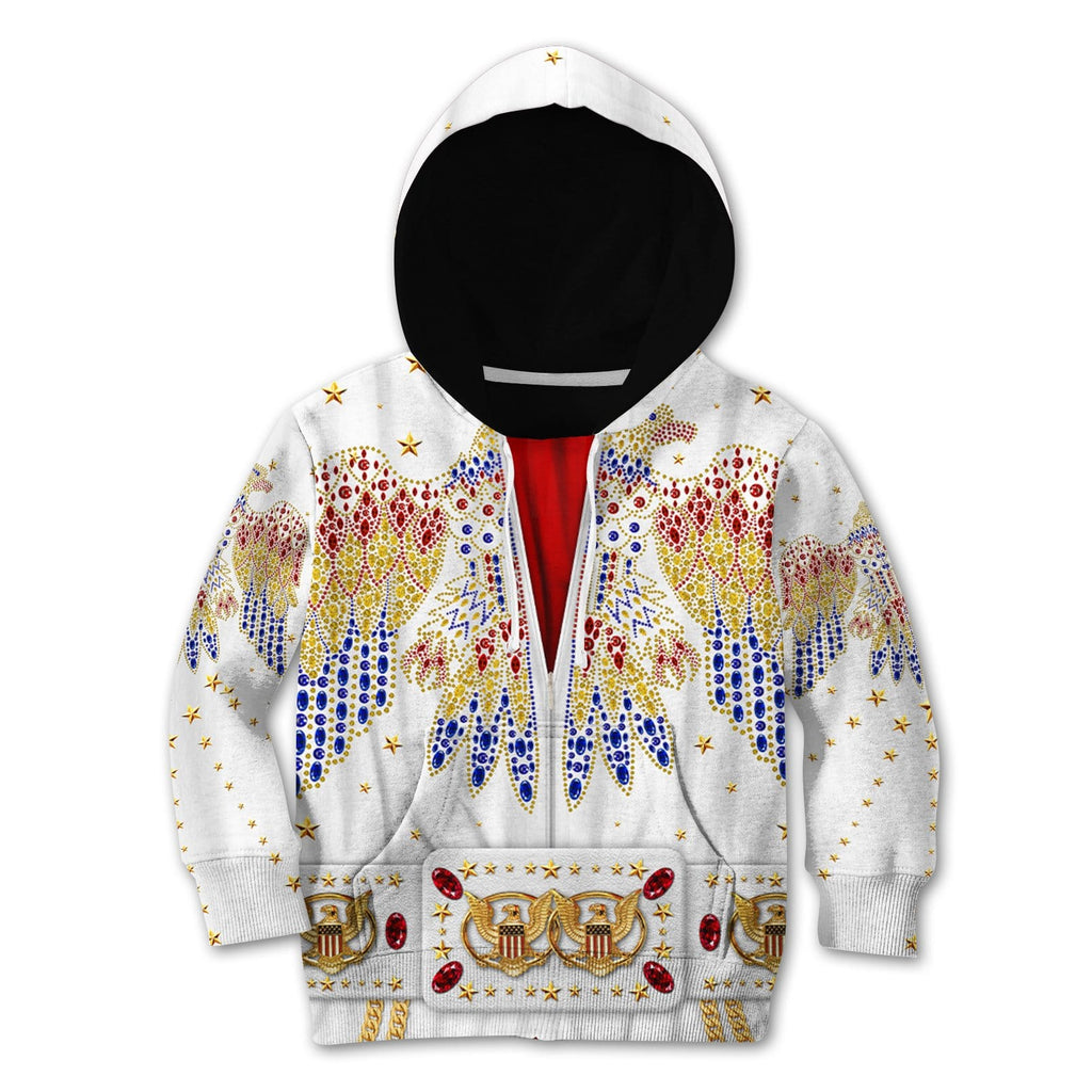 Elvis presley suit Kid Custom Hoodies T-shirt Apparel