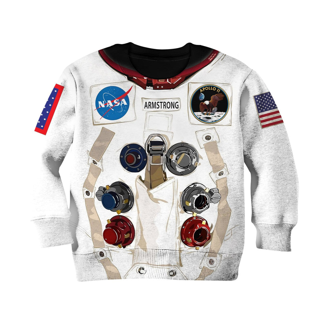 Nasa astronaut Kid Custom Hoodies T-shirt Apparel