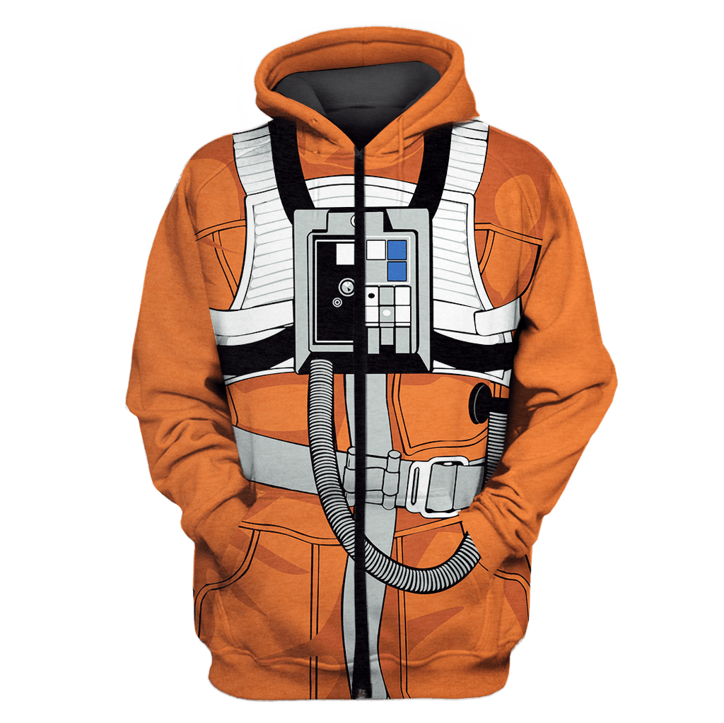 SW X-Wing Pilot Custom T-shirt - Hoodies Apparel