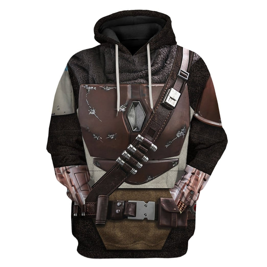 Custom Hoodie The Mandalorian Apparel