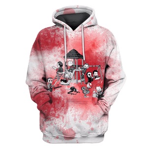 Gearhuman 3D   Michael Myers  Hoodies - Tshirt Apparel