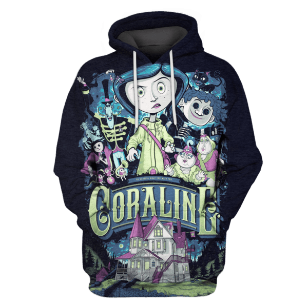 Coraline Hoodies - Tshirt Apparel