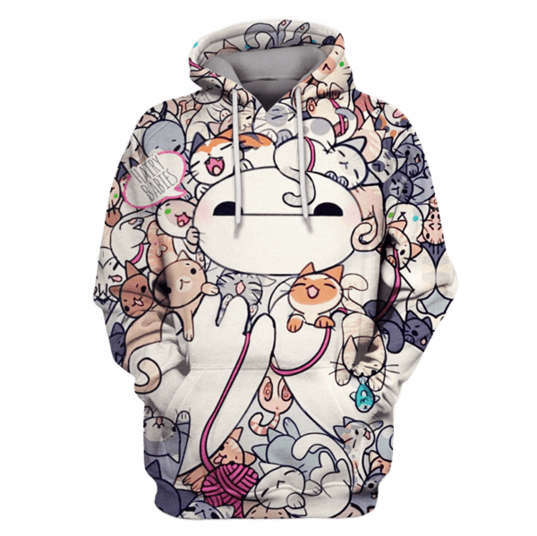BAYMAX BIG HERO 6 Tshirt - Zip Hoodies Apparel