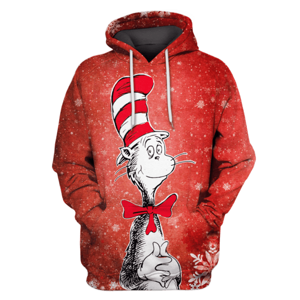 The Cat in the Hat christmas T-Shirts - Zip Hoodies Apparel