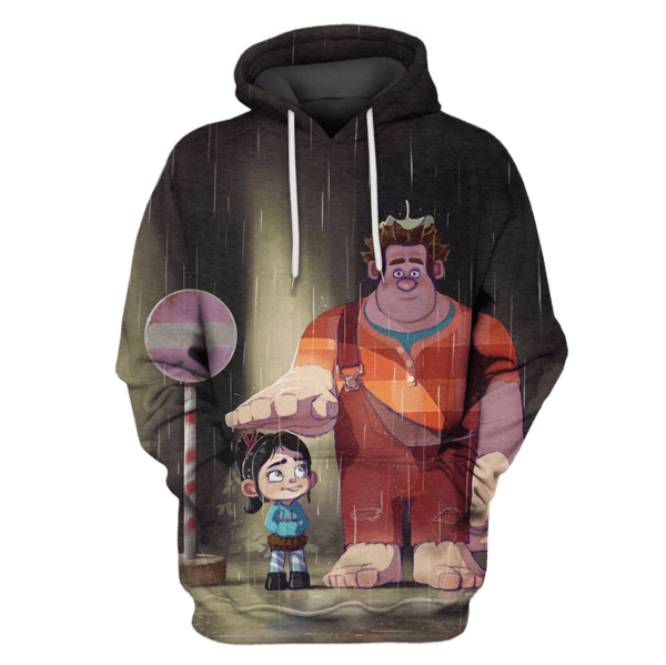 My Neighbor Wreck-It Ralph Hoodies - T-Shirts Apparel