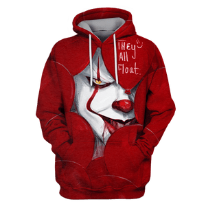 Gearhuman 3D IT They are float Tshirt - Zip Hoodies Apparel