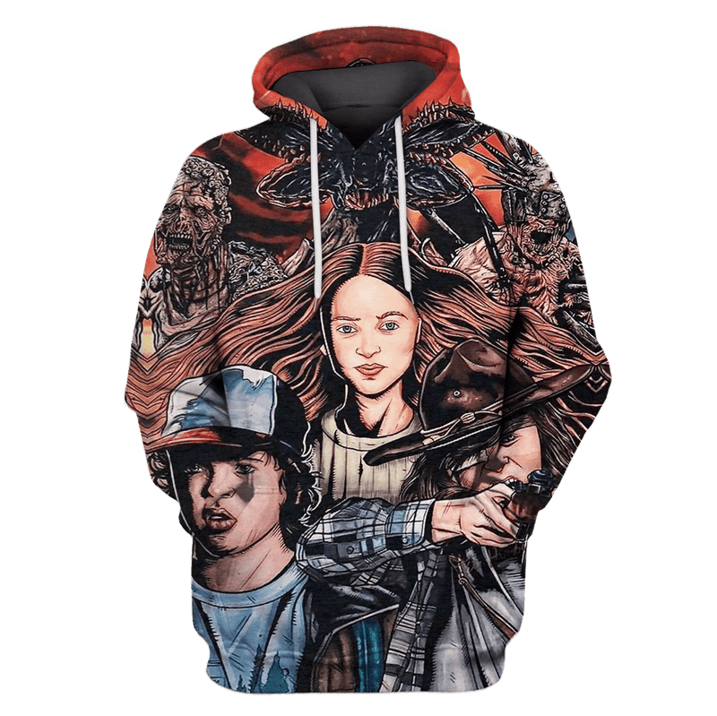 3D  The Walking Dead  Hoodie - Tshirt