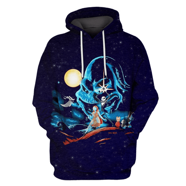 3D  Nightmare Before Christmas  Hoodie - Tshirt
