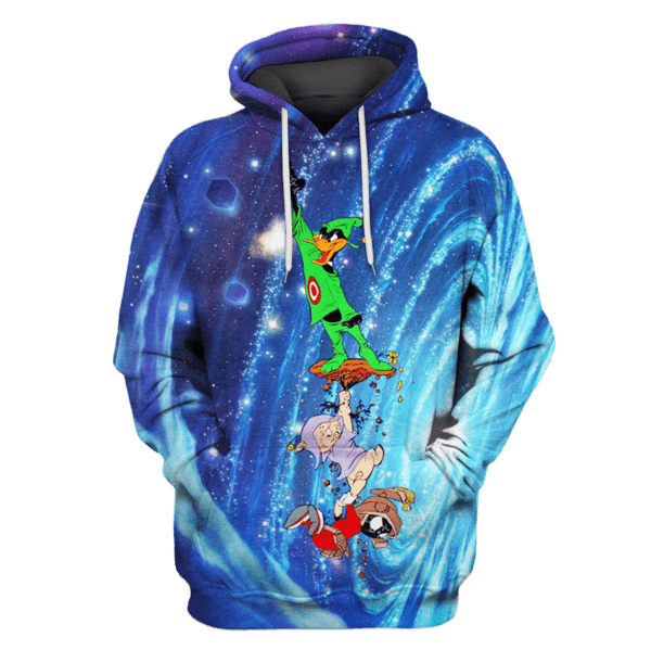 Daffy Duck Tshirt - Zip Hoodies Apparel