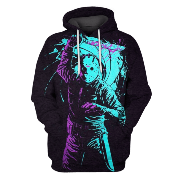 friday the 13th Tshirt - Zip Hoodies Apparel
