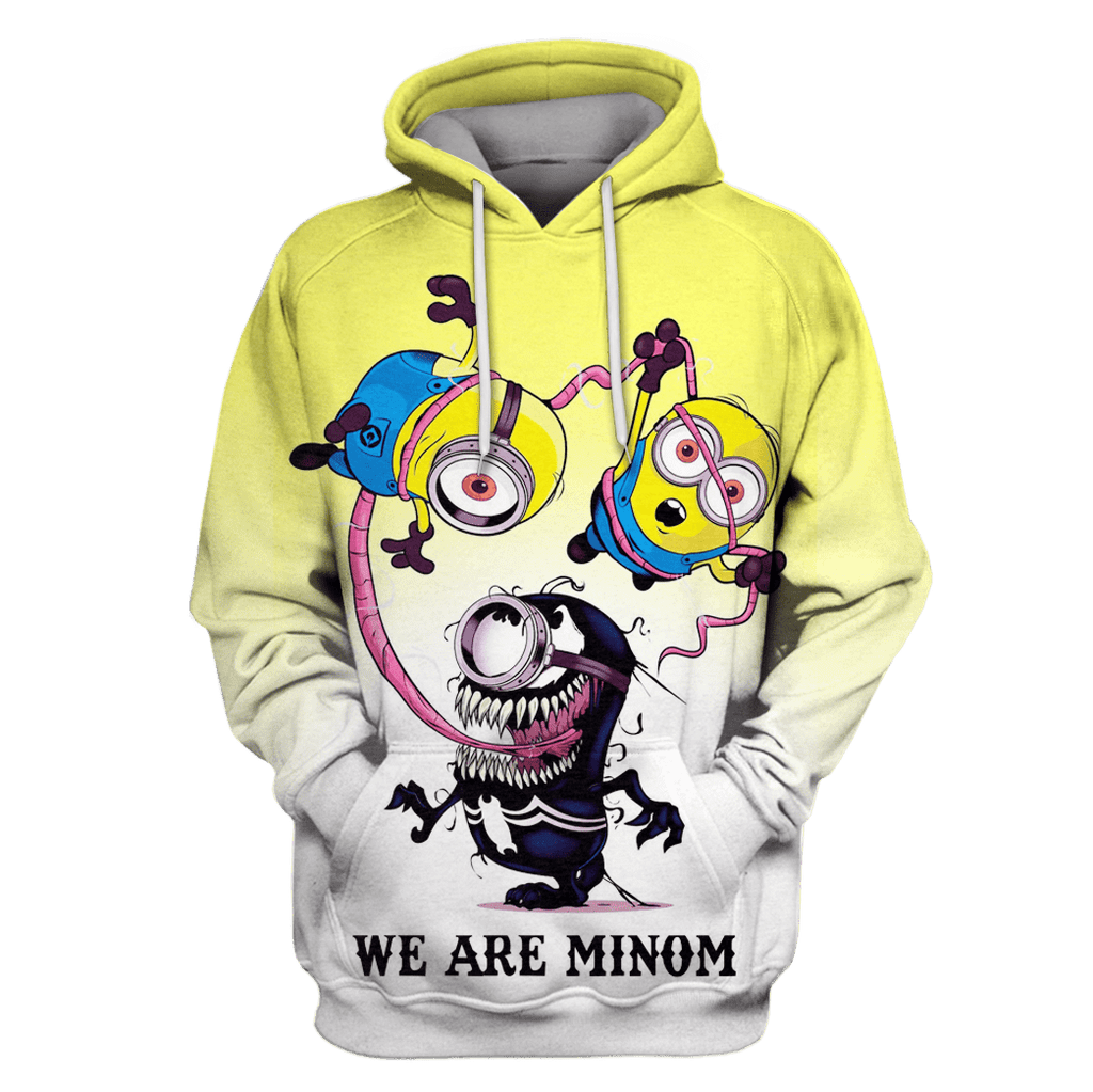 Halloween Minion Tshirt - Zip Hoodies Apparel