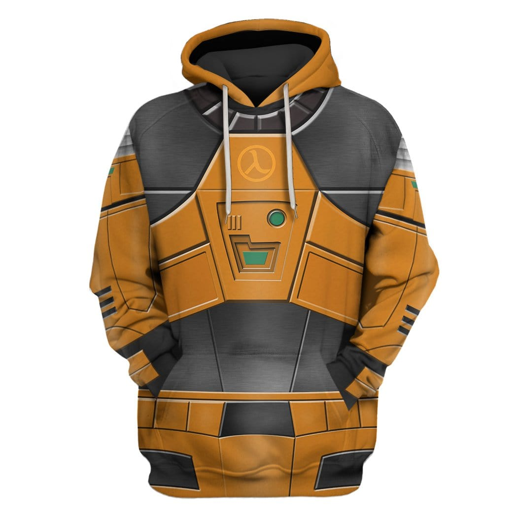 Gearhuman 3D Hev suit Custom T,shirt , Hoodies Apparel