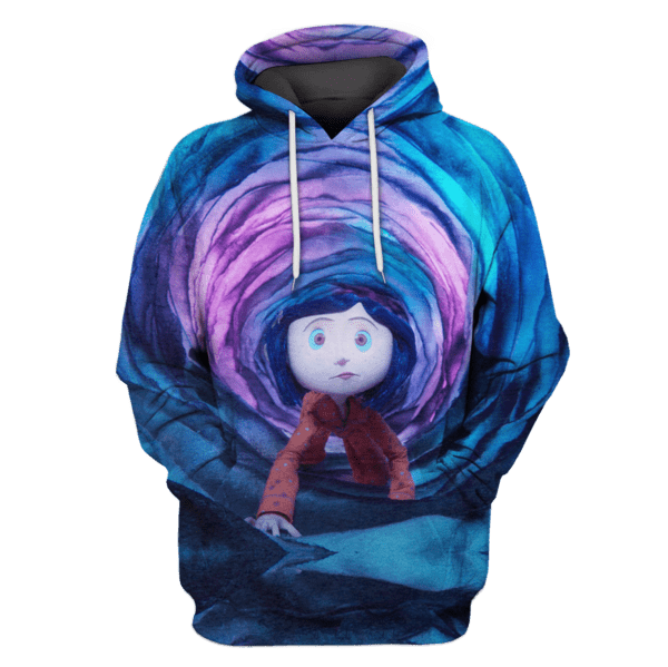 coraline movie Hoodies - T-Shirts Apparel