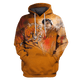 Gearhuman 3D   Tiger Woods  Hoodies - Tshirt Apparel