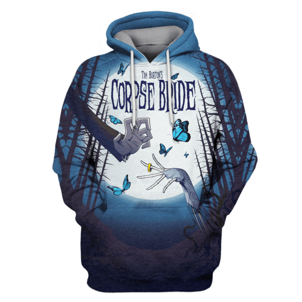 tim burton's corpse bride Hoodies - Tshirt Apparel