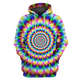 3D Motion Image Illusion Hoodie - Tshirt Apparel