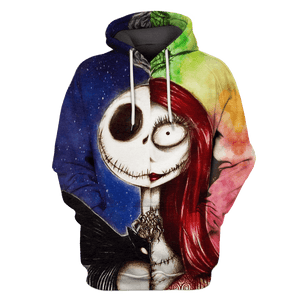 3D  Nightmare Before Christmas   Hoodie - Tshirt Apparel
