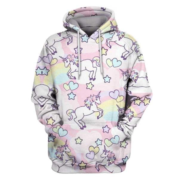 Unicorns With Love Hoodies - T-Shirts Apparel
