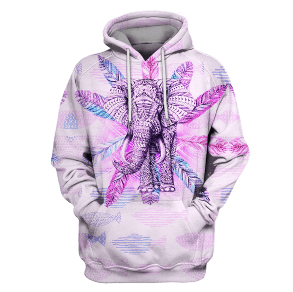 Elephant Hoodies T-Shirt Apparel