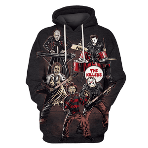 Gearhuman 3D Death Mt Killer Music Horror  Tshirt - Zip Hoodies Apparel
