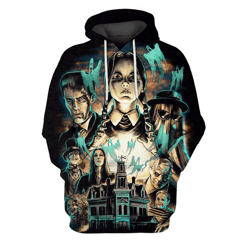Addams Family Tshirt - Zip Hoodies Apparel