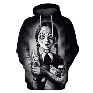Gearhuman 3D    Addams Family    Tshirt - Zip Hoodies Apparel