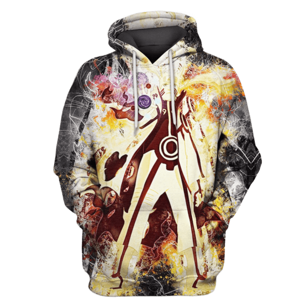 Naruto Tshirt - Zip Hoodies Apparel