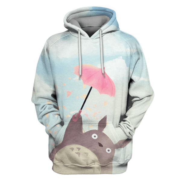 MY NEIGHBOR TOTORO Tshirt - Zip Hoodies Apparel