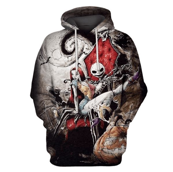 The Nightmare Before Christmas Hoodies - Tshirt Apparel