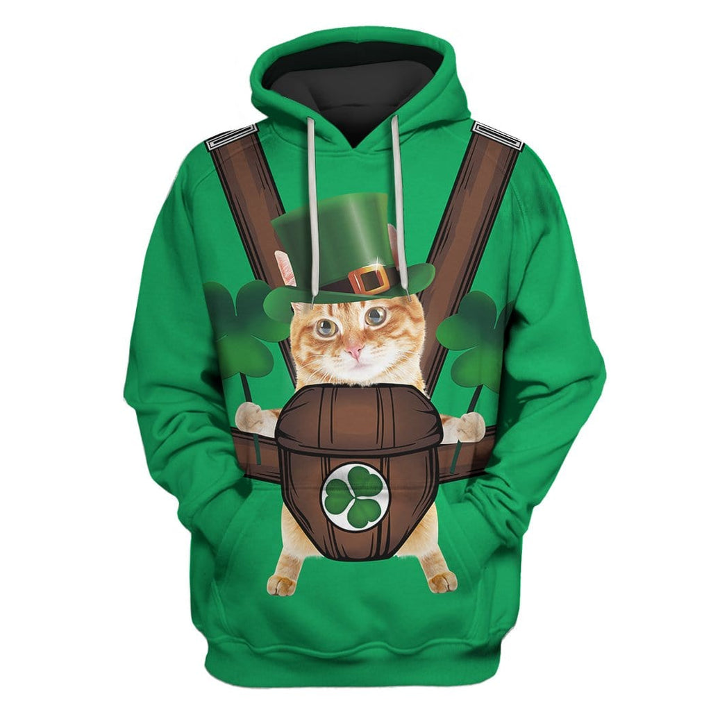 Cute Cat Custom T-shirt - Hoodies Apparel