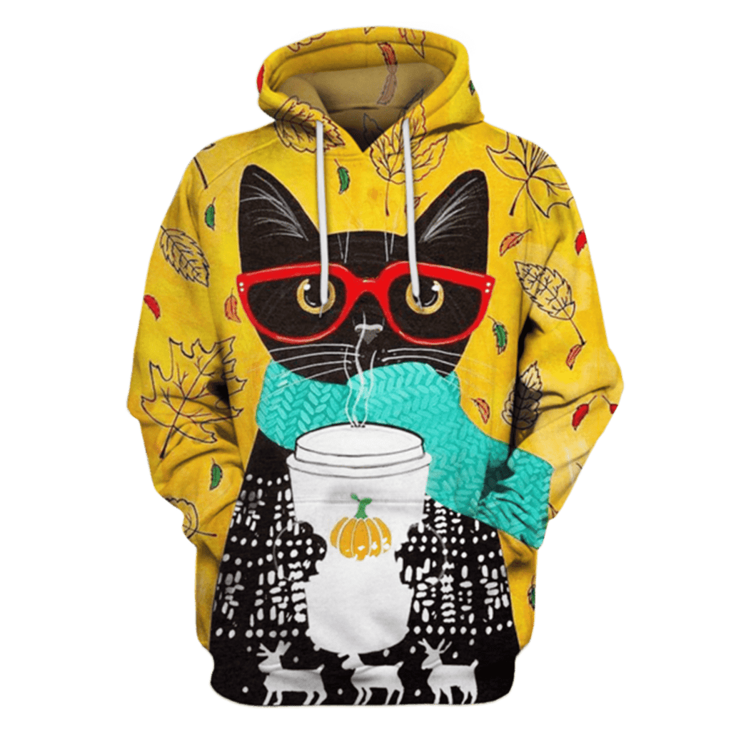 Black Cat Hoodies - T-Shirt Apparel
