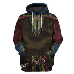 Gearhuman 3D  King theoden  Custom T-shirt - Hoodies Apparel