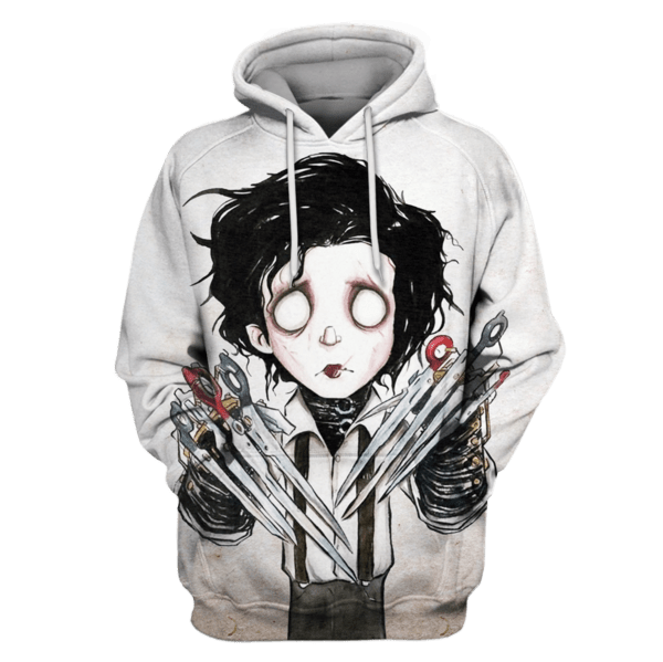 Edward Scissorhands T-Shirts - Zip Hoodies Apparel