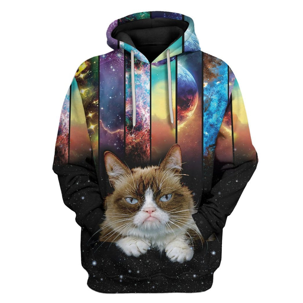 Cat And Galaxy Custom Tshirt Hoodies Apparel
