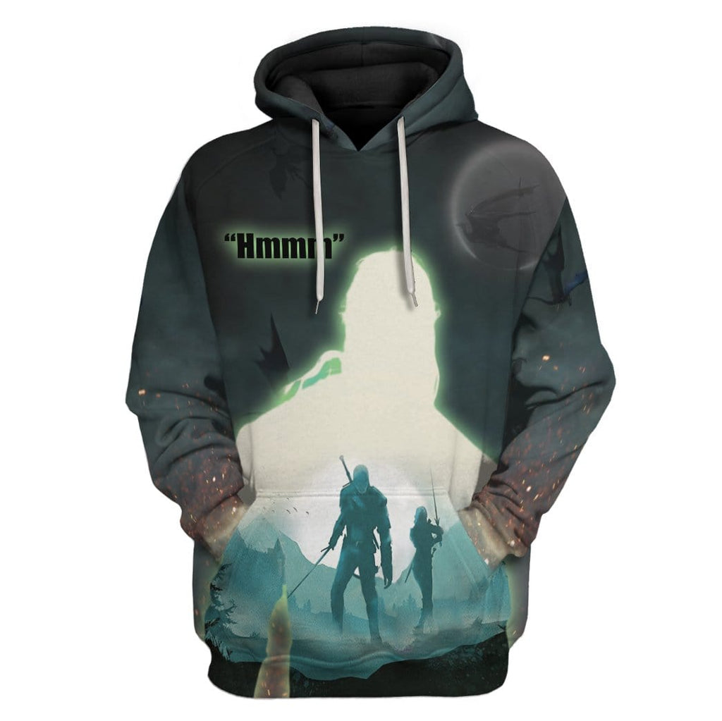 The Witcher Geralt Custom Tshirt Hoodies Apparel