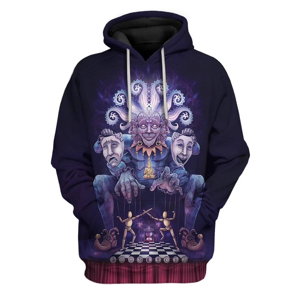 Cosmic Jester On The Plane Of Polarity Hoodie T-Shirts Apparel