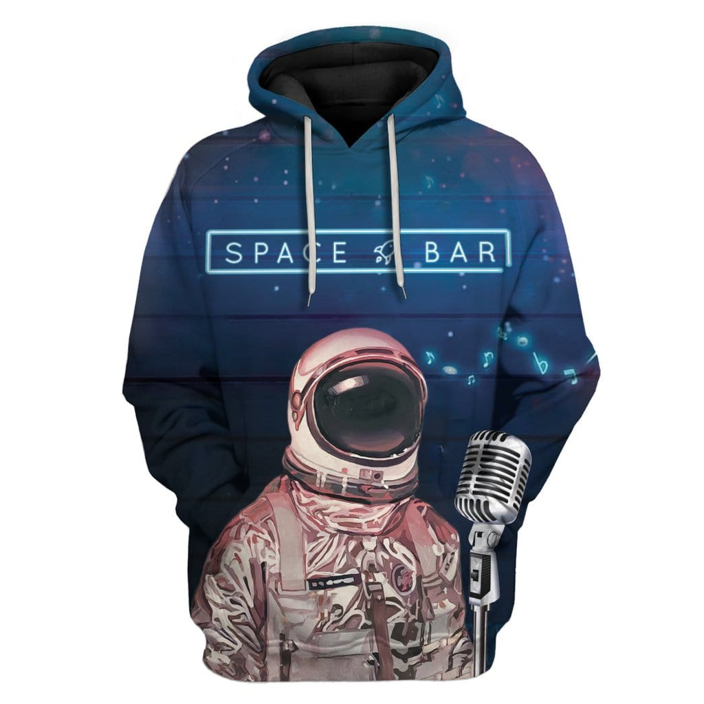 Astronaut Space Bar Custom T-Shirts Hoodies Apparel