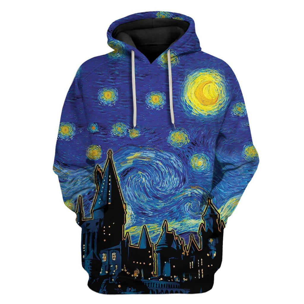 Gearhuman 3D Magic School Custom Tshirt Hoodies Apparel