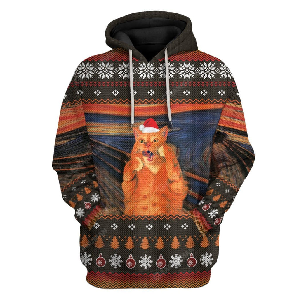 The Scream Cat Custom T-Shirts Hoodies Apparel