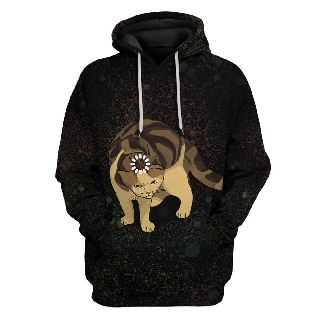 Gearhuman 3D Loading Cat Meme Custom Tshirt Hoodies Apparel