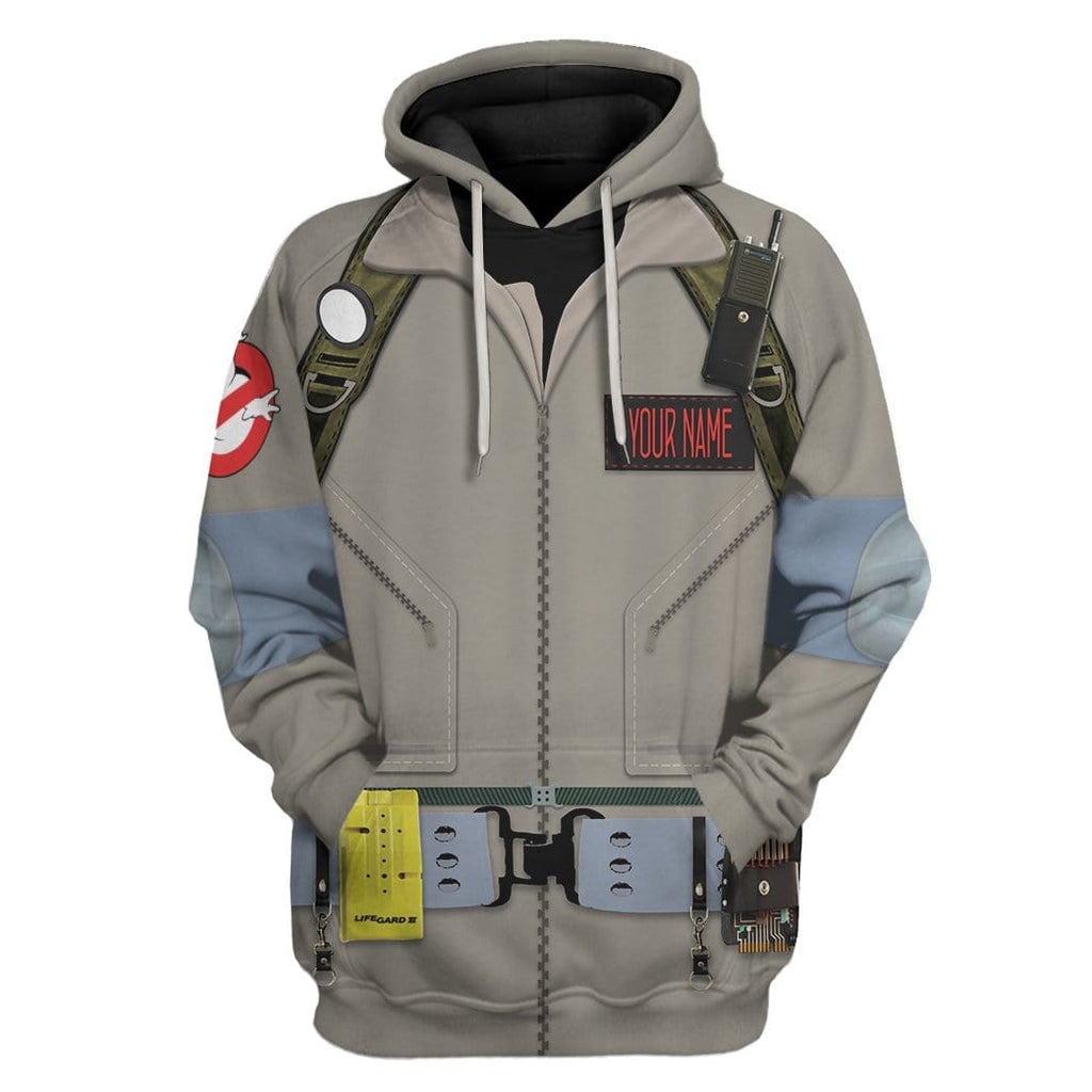Cosplay Ghostbusters Custom Name Tshirt Hoodies Apparel