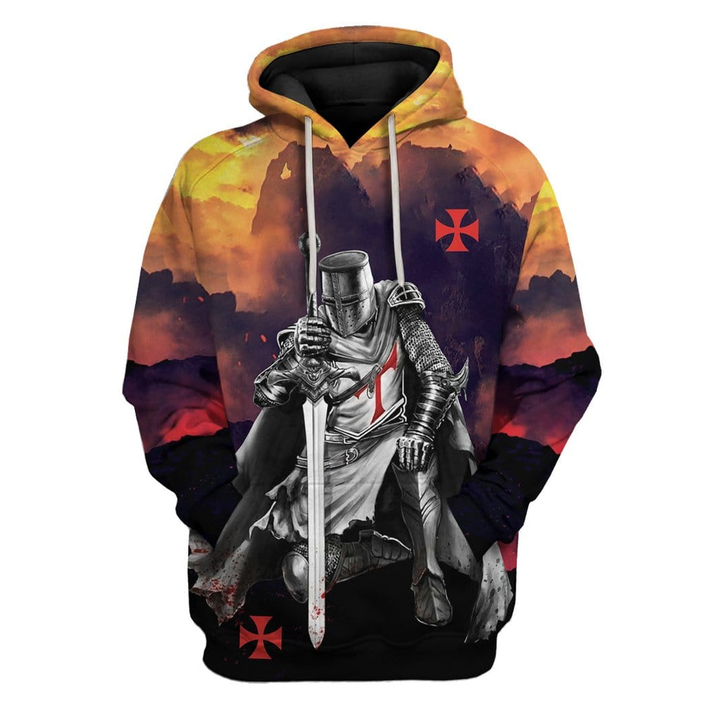 Knights Templar Custom T-Shirts Hoodies Apparel