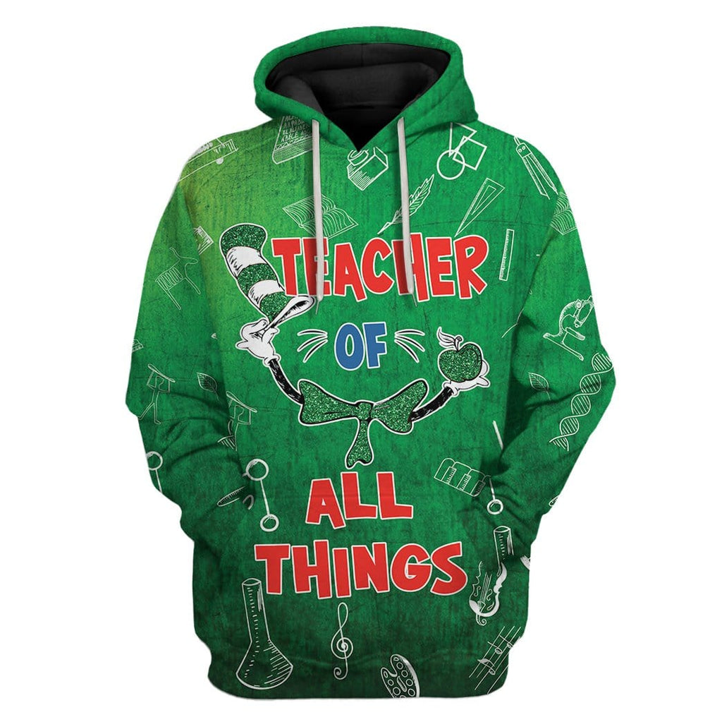 Teacher Of All Things St Patrick's Day Custom T-Shirts Hoodies Apparel