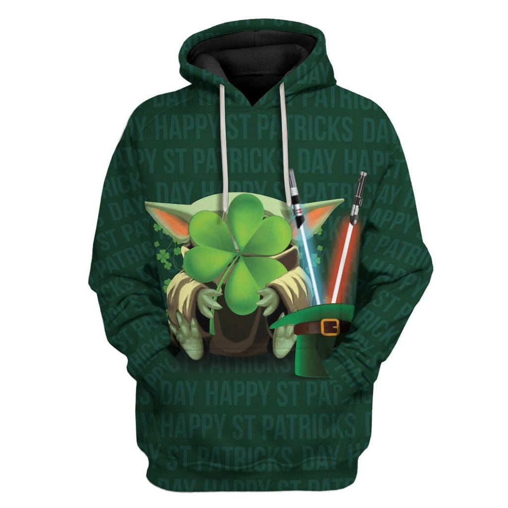 St Patrick Baby Yoda Custom T-Shirts Hoodies Apparel