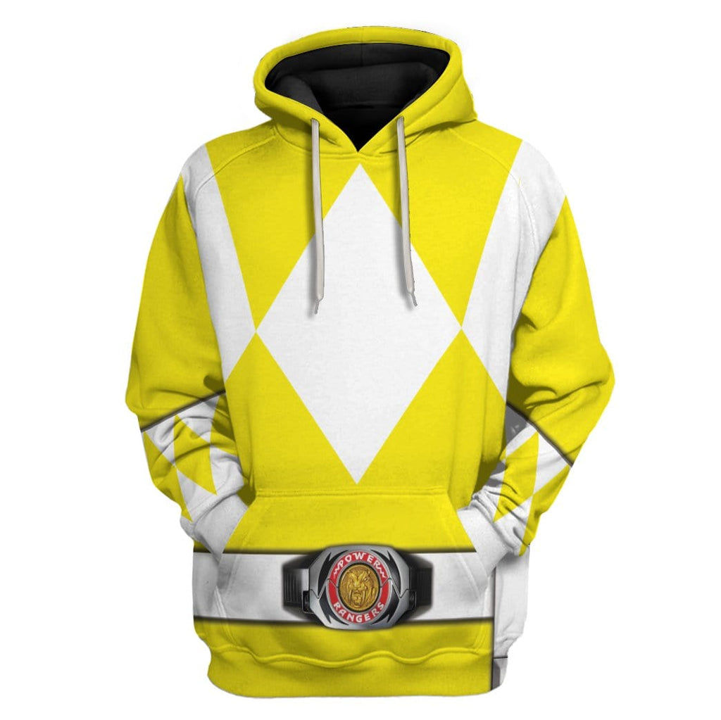 Cosplay Yellow Power Ranger Custom T-Shirts Hoodies Apparel