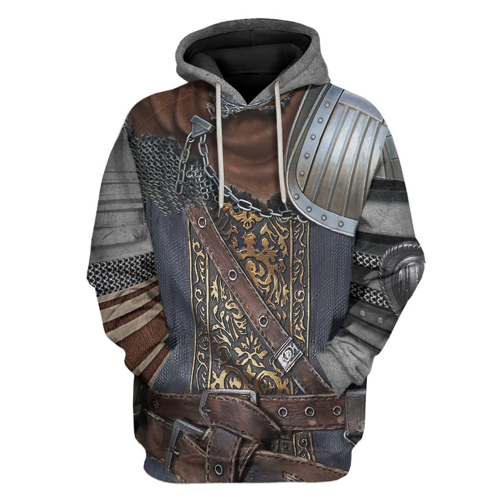 Cosplay Dark Souls Chosen Undead Custom T-Shirts Hoodies Apparel