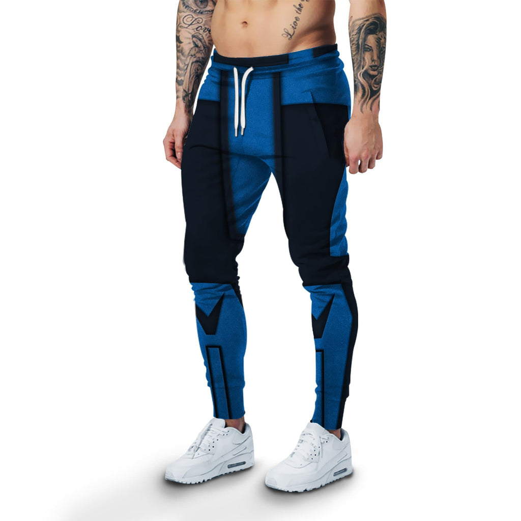 Cosplay Sub-Zero Mortal Kombat Costume Sweatpants