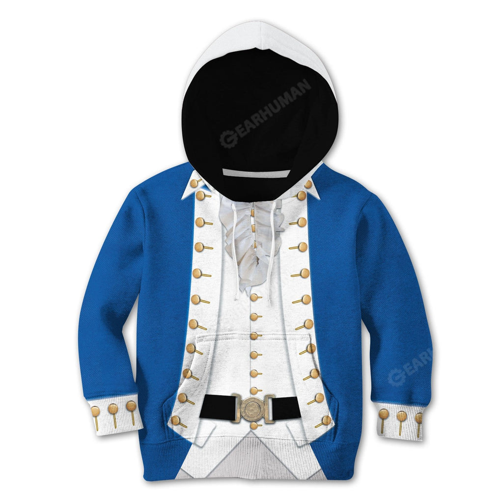 Hoodie Kid Cosplay Alexander Hamilton Custom Tshirt Hoodies Apparel